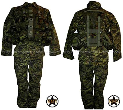 : Tactical Kit Canada Army Digital Camouflage
