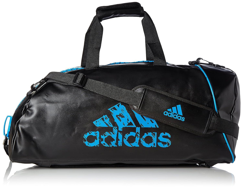 Abverkauf Adidas Judogi 2in1 Sporttasche Schwarz Blau