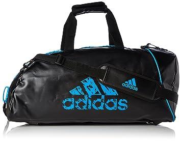 adidas Training 2in1 Bag Sporttasche, Schwarz Blau, 31 x 62 x 31 cm db080dda0e
