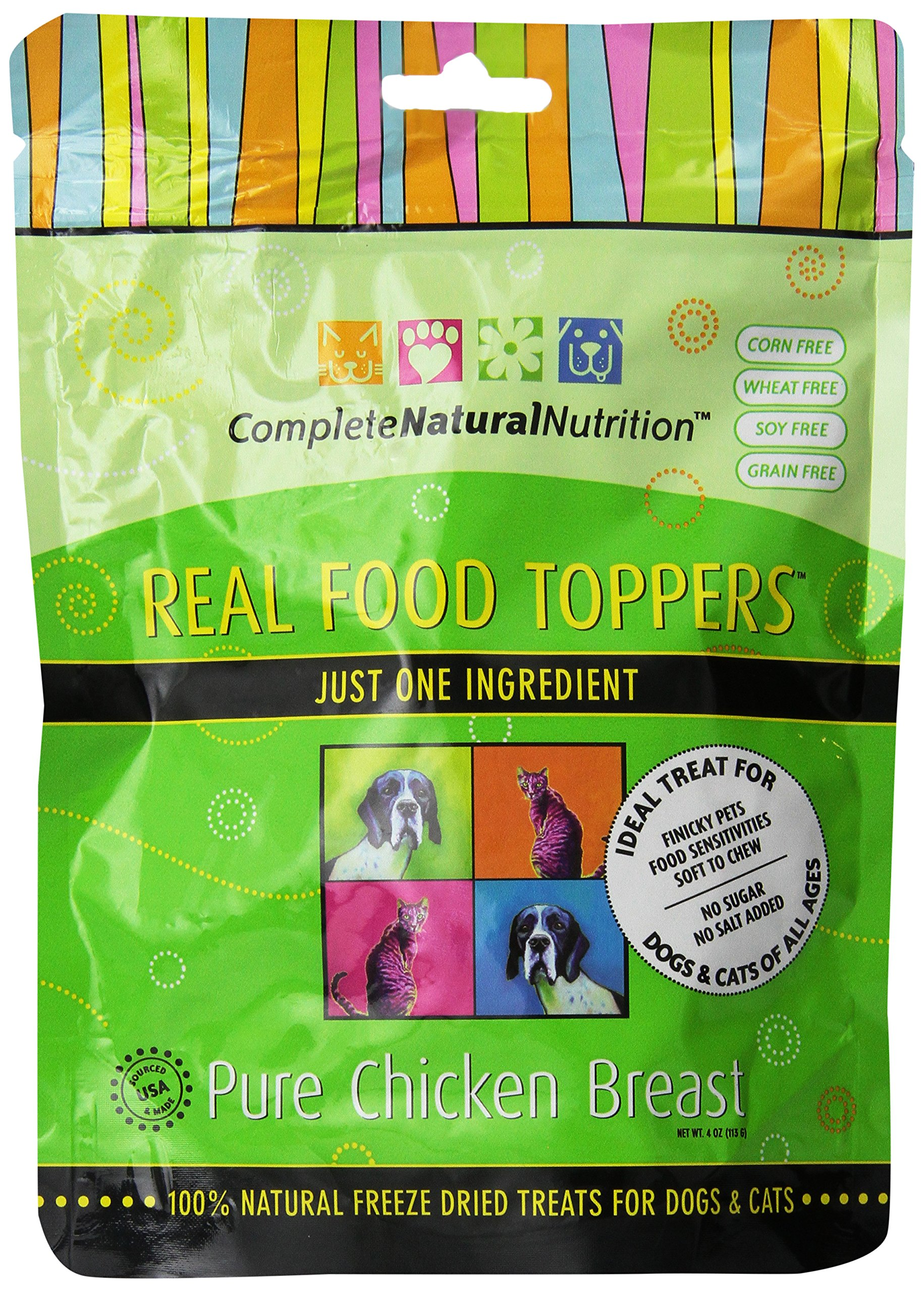 Complete Natural Nutrition Real Food Toppers - Pure Chicken Breast - 4-Ounce by Complete Natural Nutrition (Image #1)