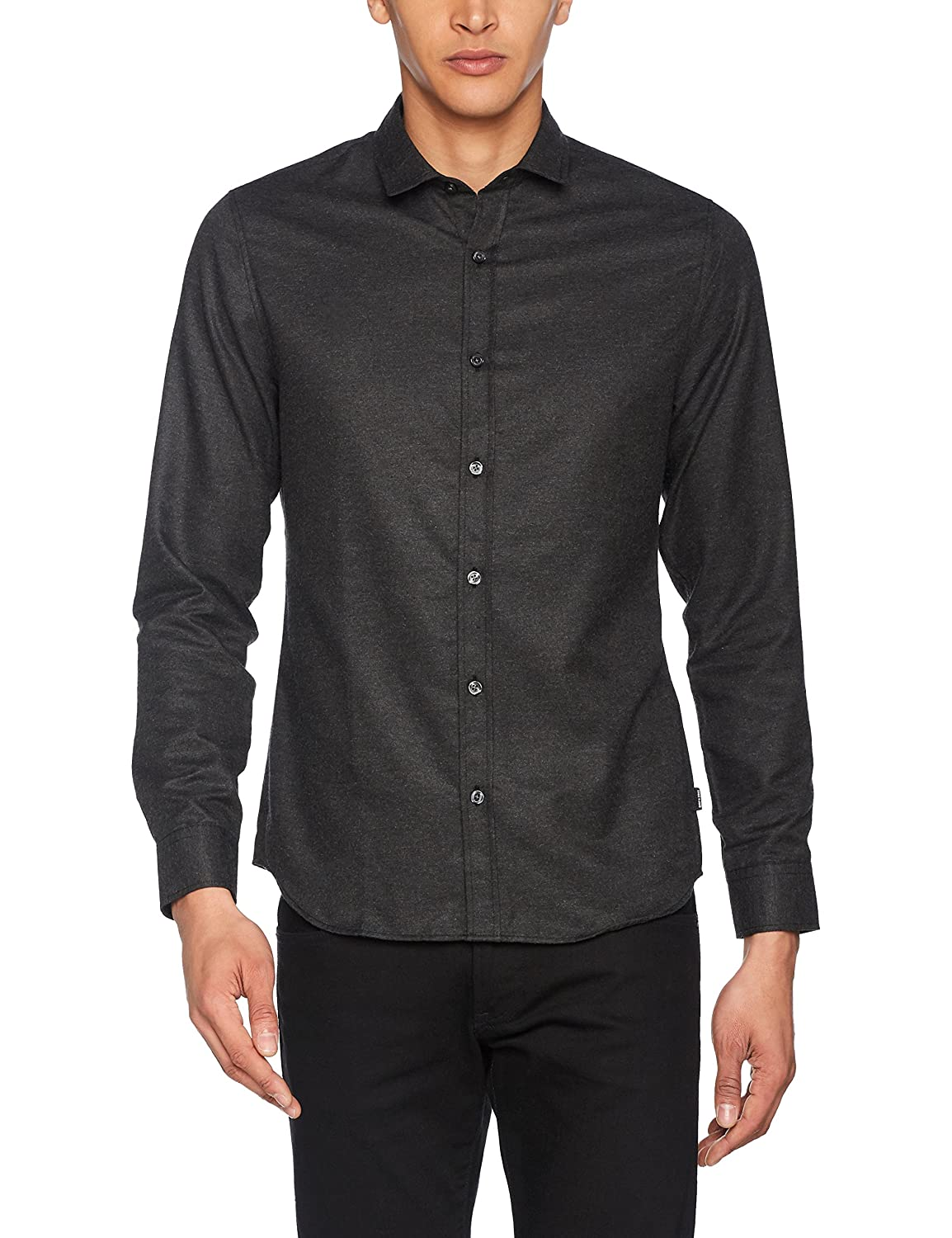 Only & Sons Onsbaily LS Melange Shirt Camisa para Hombre