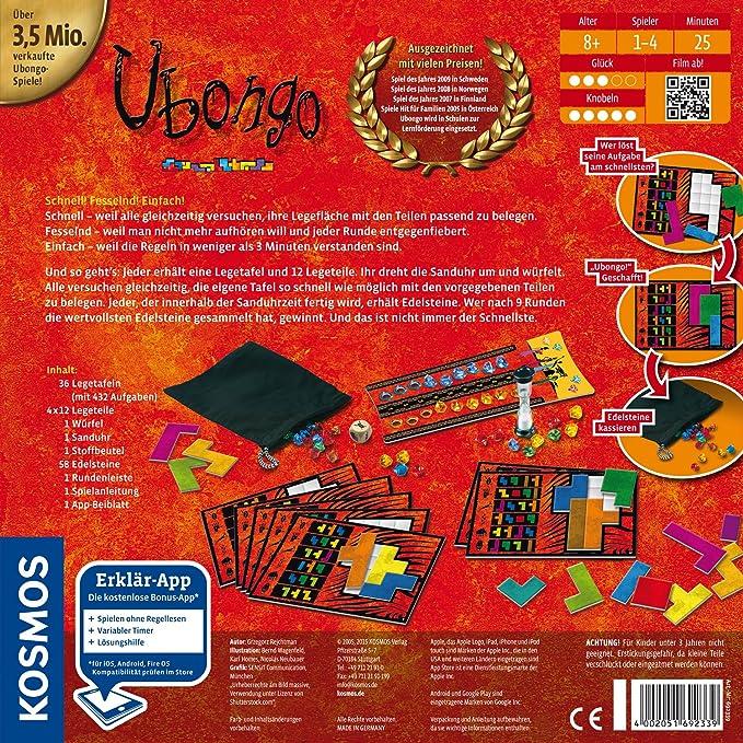 KOSMOS 69233 - Juego de Tablero (Multi, 29,5 cm, 7,3 cm, 29,5 cm ...