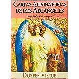 Cartas Adivinatorias De Los Arcángeles - Juego de 45 cartas y libro de guía