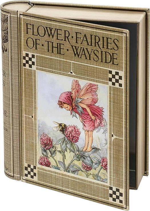 Elite Gift Boxes - Caja con Forma de Libro Flower Fairies: Amazon ...