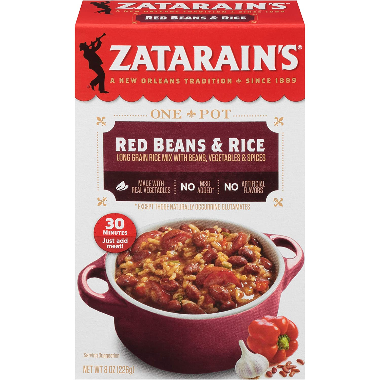 Zatarain's Red Beans & Rice Rice Dinner Mix, 8 oz