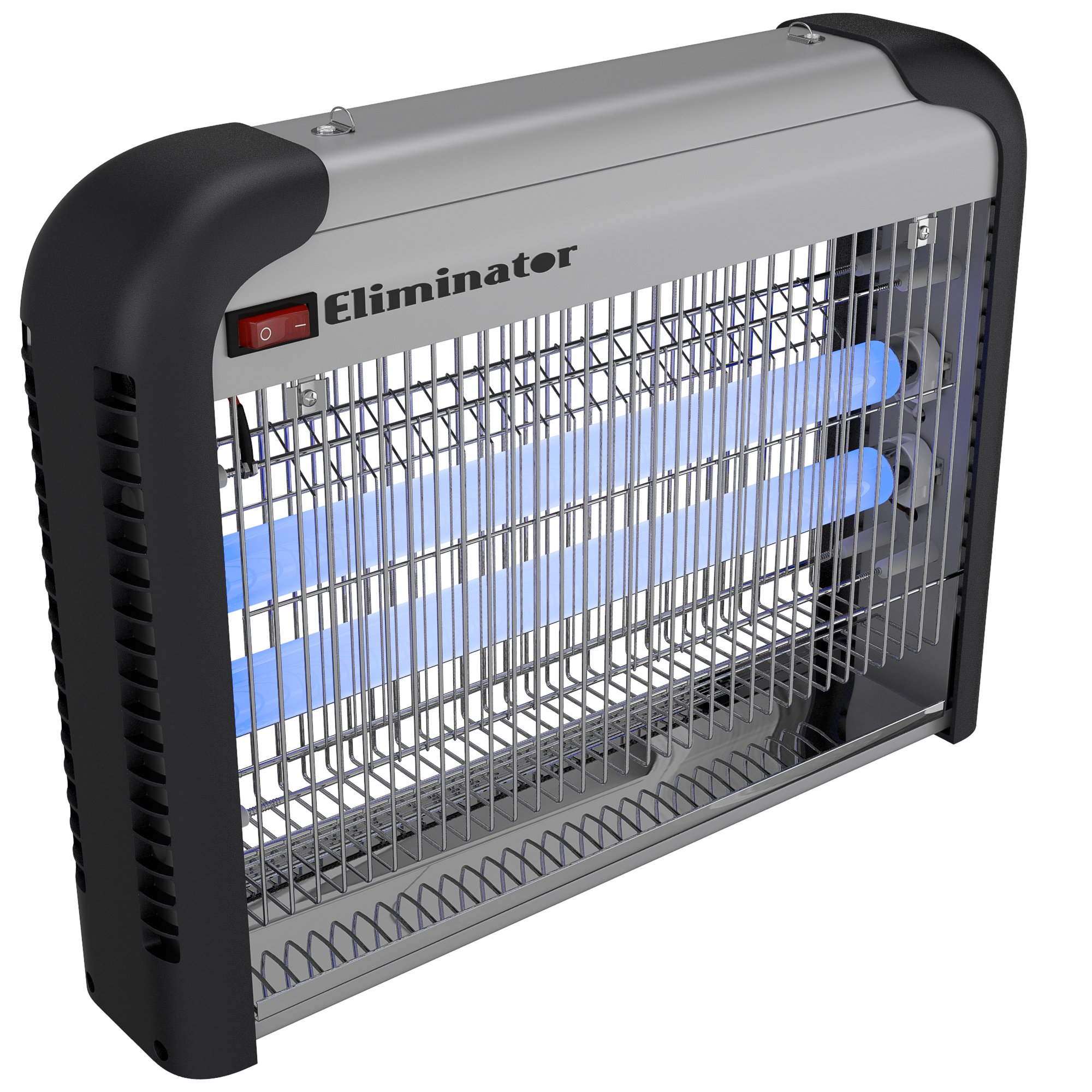 Eliminator Electronic Fly and Bug Zapper – 20 Watts, Protects 5,000 Sq. Ft. / Exterminates All Insect Pests - For Residential, Industrial and Commercial Use by Eliminator (Image #5)