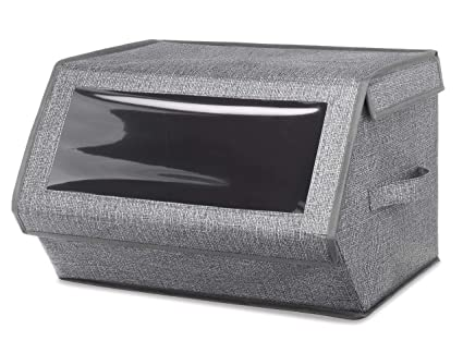 Attrayant Whitmor Stackable Window Storage Box