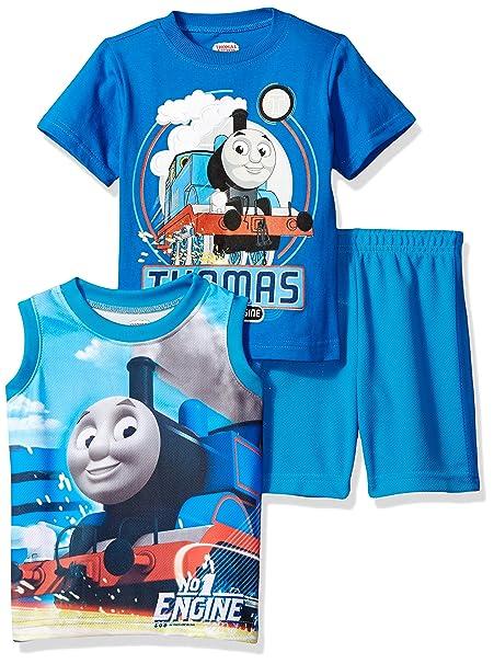 Amazon.com: Thomas & Friends bebé Boys 3 pieza Thomas Knit ...