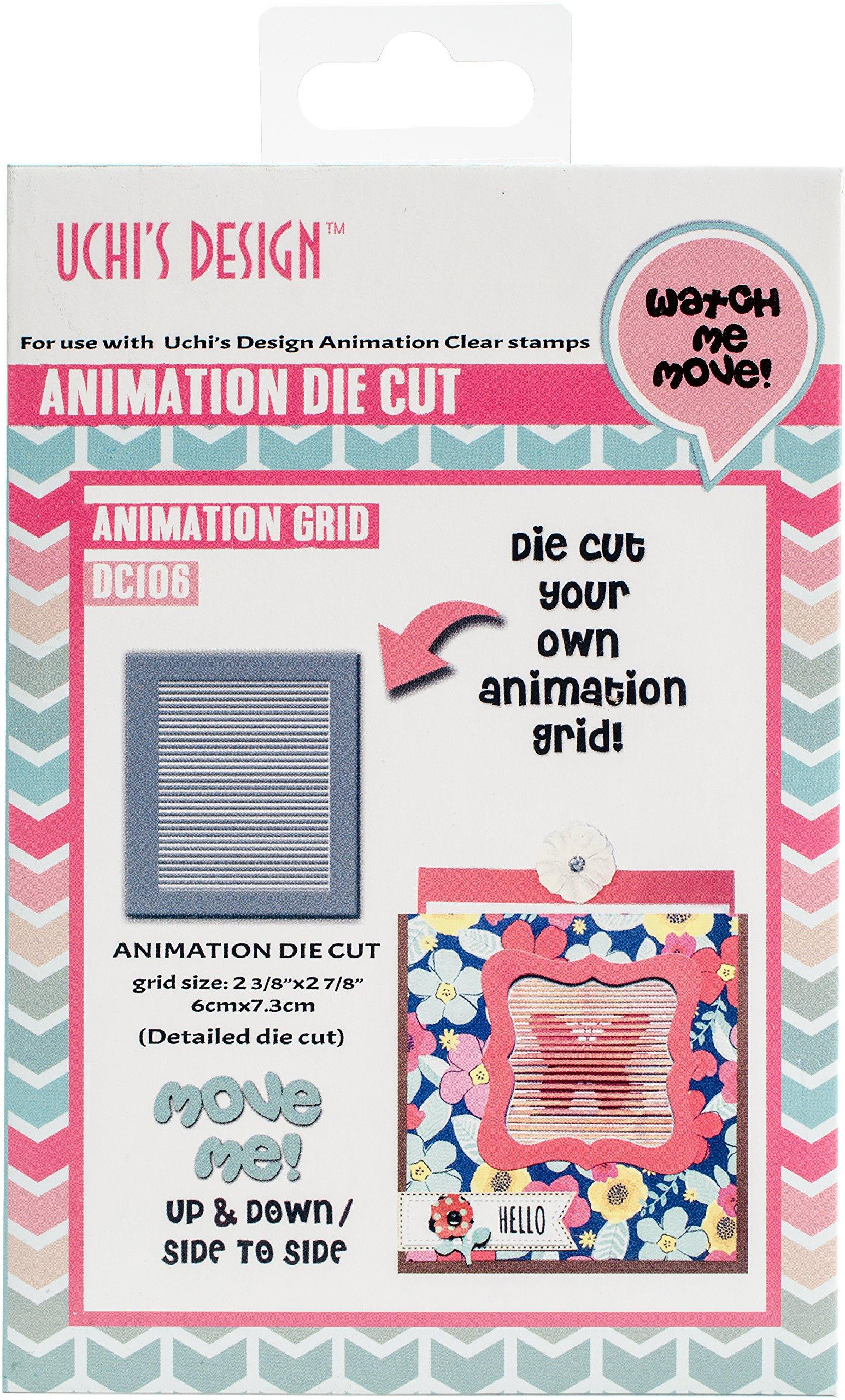 Uchi's Design LLC Animation Grid Die