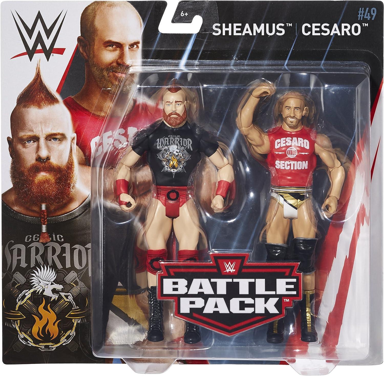 Cesaro-Basic combat SERIES-WWE Mattel Wrestling Figure