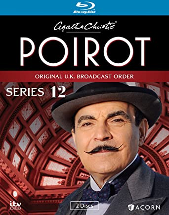 Agatha Christie S Poirot Series 12 Blu Ray David Suchet Hugh Fraser Philip Jackson Pauline Moran Movies Tv