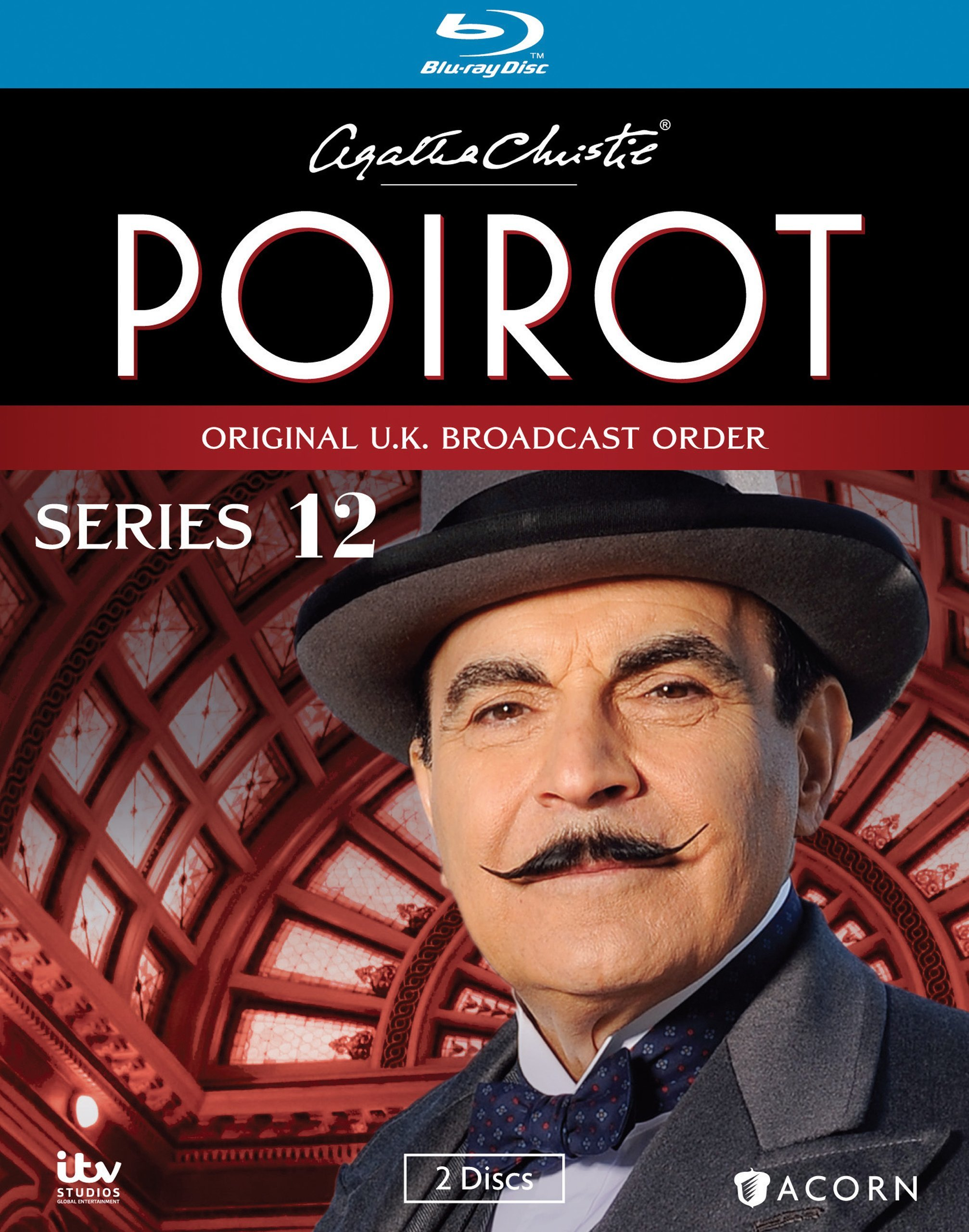 Blu-ray : Agatha Christie's Poirot: Series 12 (Widescreen, Digital Theater System, Digitally Mastered in HD, 2PC)
