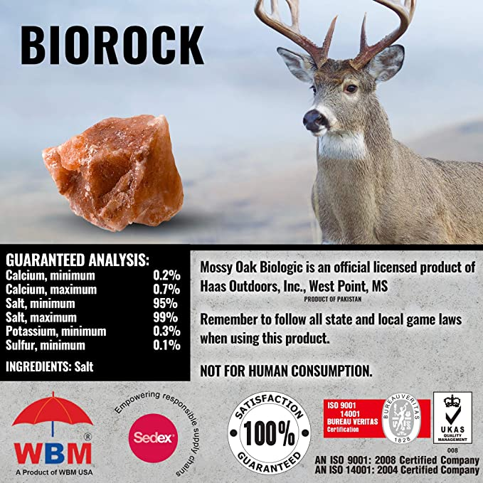 Amazon.com: Mossy Oak BioLogic Bio Rock Deer Attractant ...