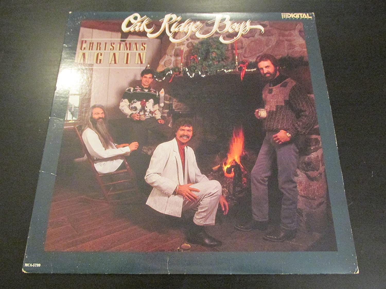 Oak Ridge Boys - Oak Ridge Boys: Christmas again (US, 1986) [LP ...