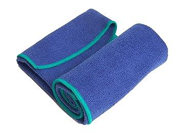 YogaRat Yoga Hand Towel - Toalla, color azul, talla 15 x 24: Amazon.es: Deportes y aire libre
