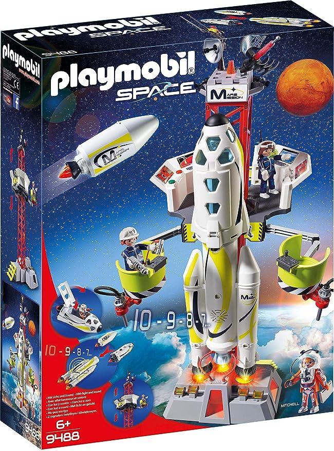 PLAYMOBIL® 9488 Mars-Rakete mit Startrampe NEU /& OVP