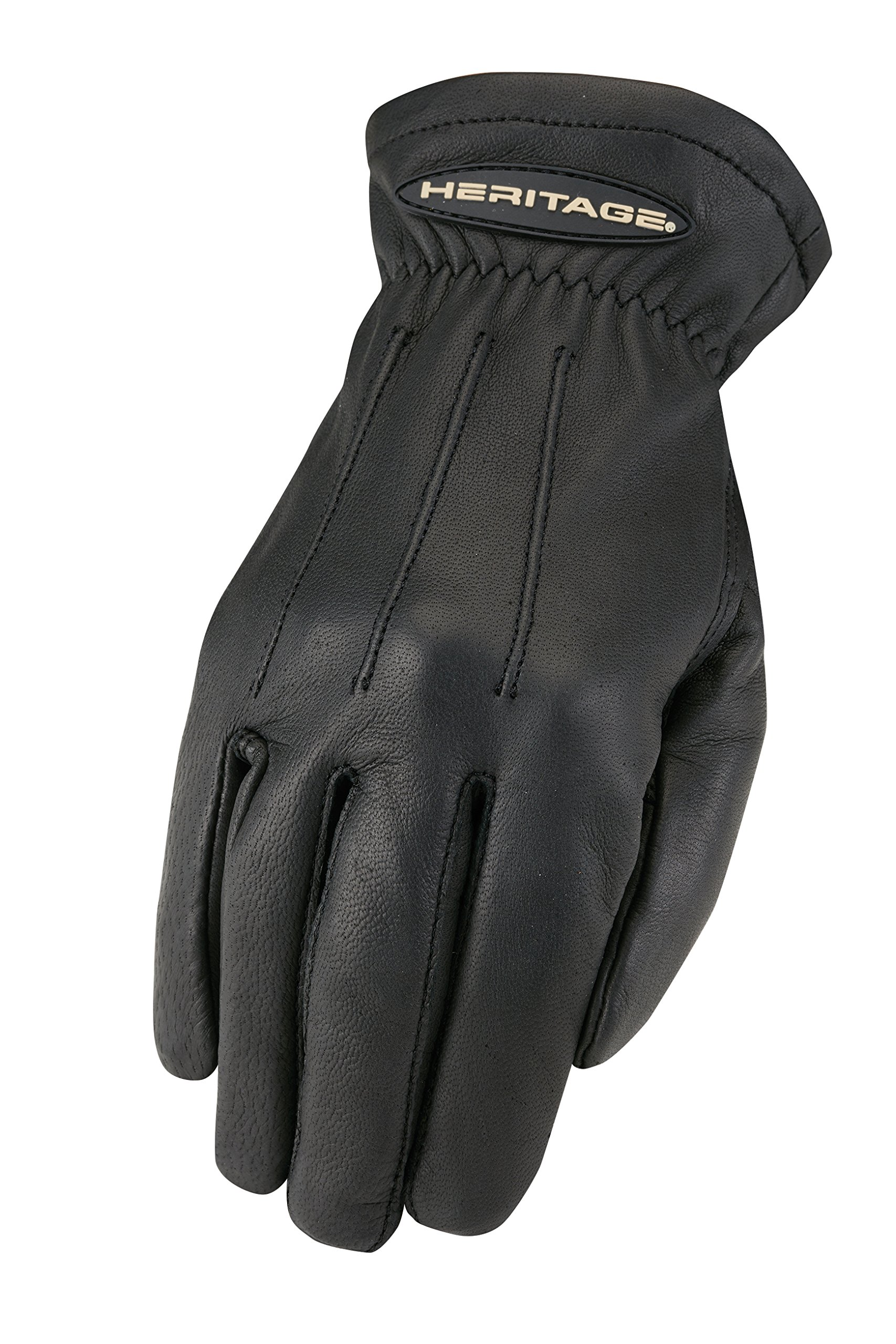 Heritage Trail Gloves, Size 7, Black