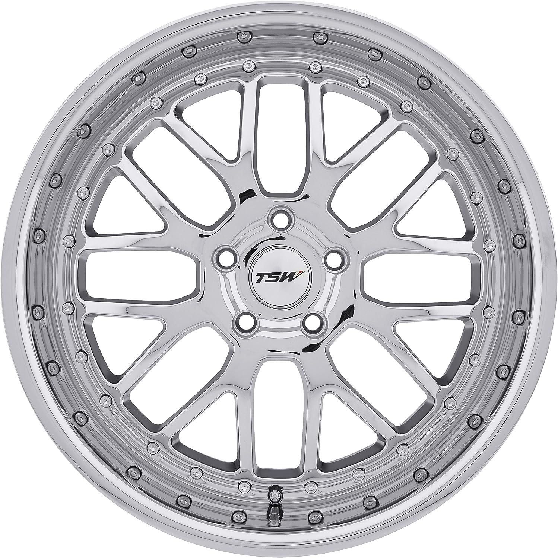 TSW VALENCIA Wheel with Chrome Finish 18x9.5//5x112mm,+40mm offset
