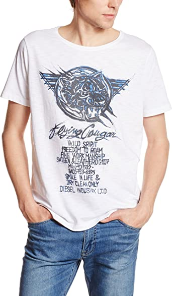 Diesel Hombre T-Joe-DC Camiseta: Amazon.es: Ropa y accesorios
