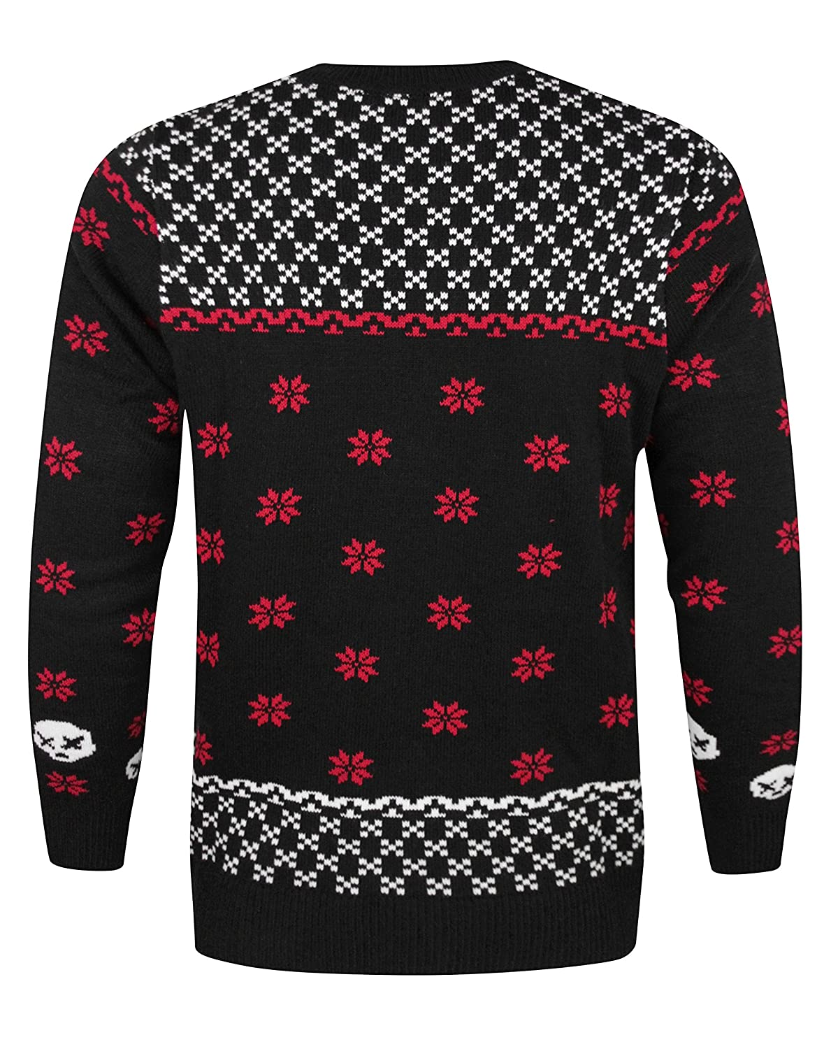 Green Day Christmas Sweater.Official Green Day Skull Unisex Christmas Jumper