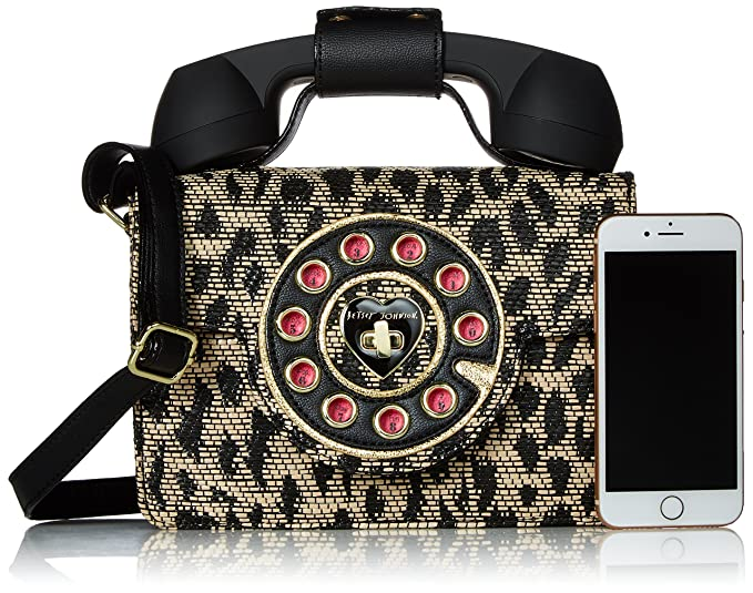 Amazon.com: betsey johnson Mighty selva leopardo bolsa de ...