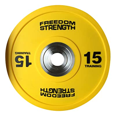 Freedomstrength® compétition PU Bumper Weighlifting plaques