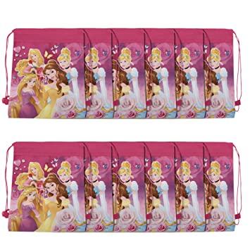 12 Pcs Asera Pink Princess Haversack Bag Dori Birthday Return Gifts Theme Party Gift