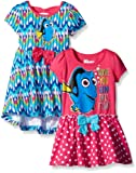 Amazon Price History for:Disney Girls' 2-Pack Finding Dory Dresses