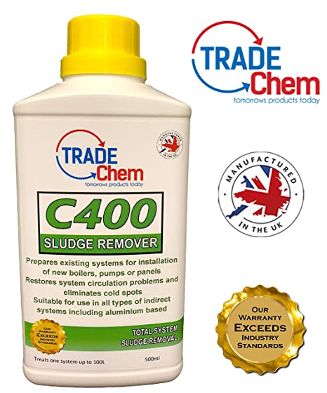 Concentrated Sludge Remover 500ml - Boiler Central Heating System ...