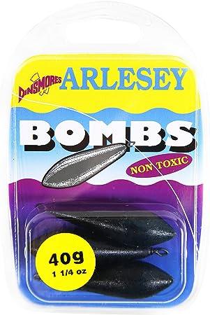 30/g Dinsmores Non Toxique Plat Bomb Sinker/ /Noir