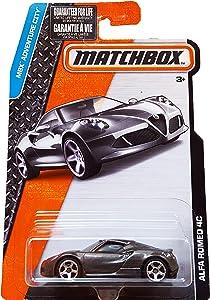 Matchbox 2016 MBX Adventure City Alfa Romeo 4C, Dark Gray