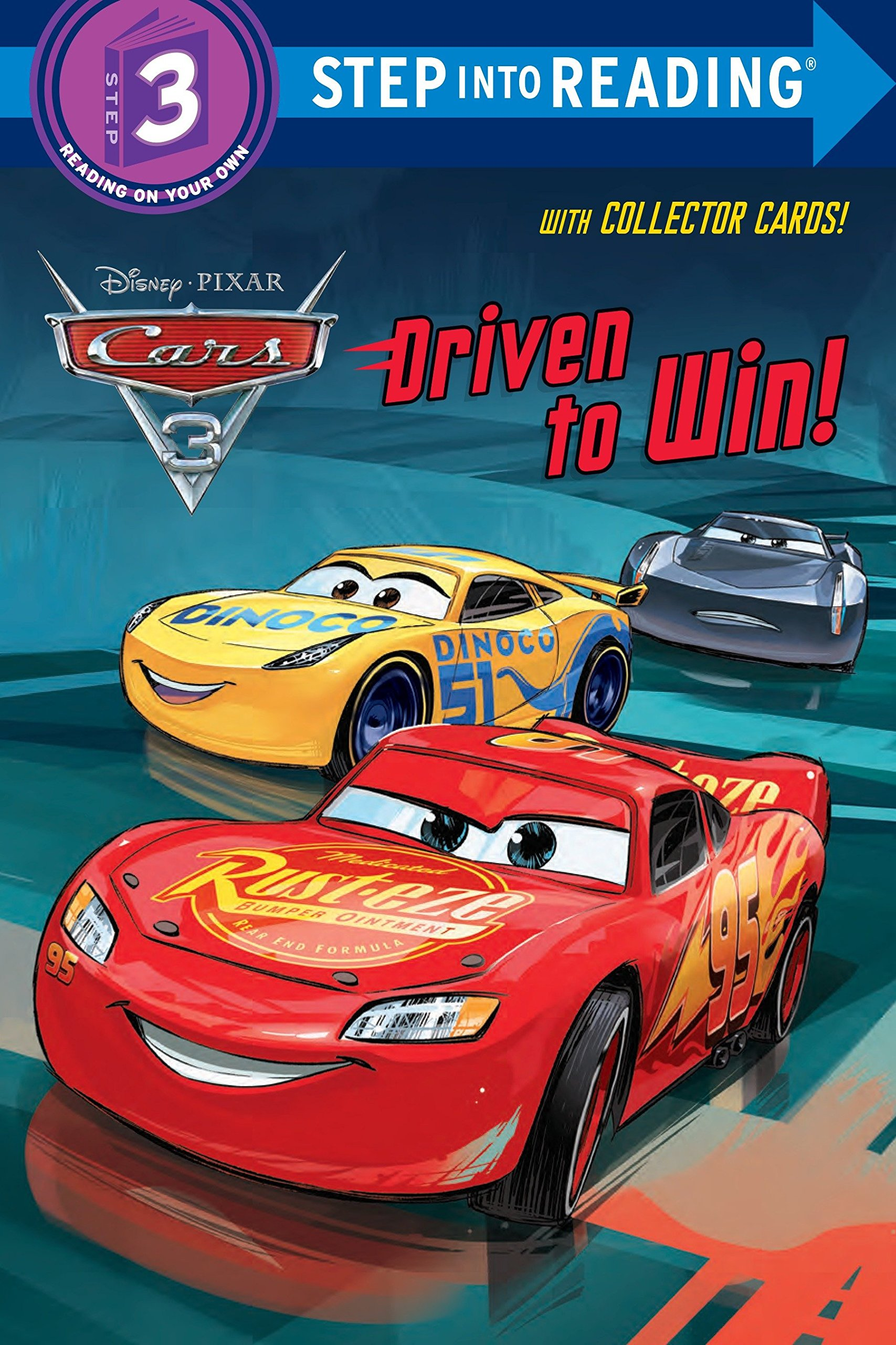 Driven To Win Disney Pixar Cars 3 Step Into Reading Rh