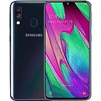 Samsung Galaxy A40 64 GB Android Dual-SIM 5.9 Inch Smartphone - Black (UK Version)