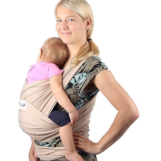 Écharpe de portage en coton de marque Neotech Care - Porte-bébé ventral  mains libres a0fe37ea504