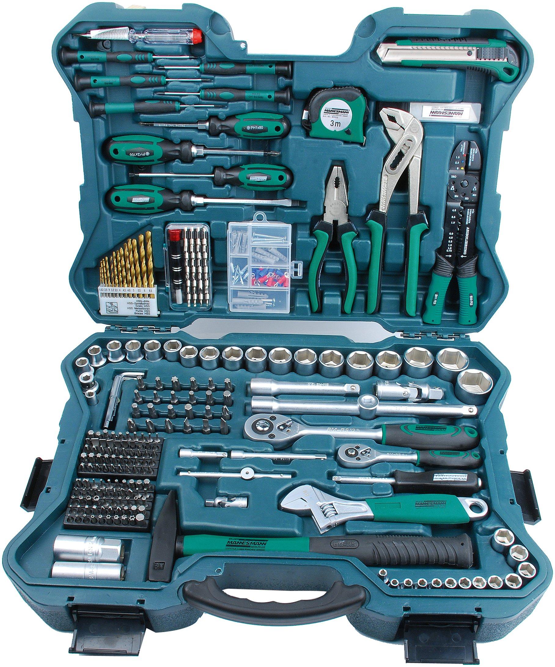 Mannesmann Tool Set (303 Pieces) by Brder Mannesmann by Br?der Mannesmann Werkzeuge GmbH