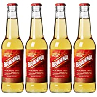 Brahma Lager Bottle, 4 x 330 ml