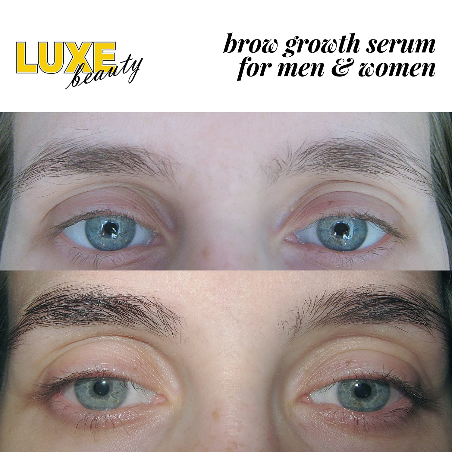 Amazon Luxe Beauty Brows Eyebrow Growth Serum For Men And