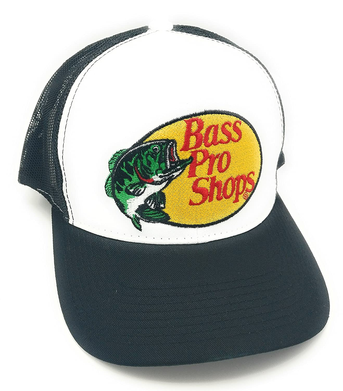 eee6c35b Amazon.com: Bass Pro Shops Hat (Black): Sports & Outdoors