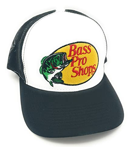 a14a6fa12d61e Amazon.com  Bass Pro Shops Hat (Black)  Sports   Outdoors
