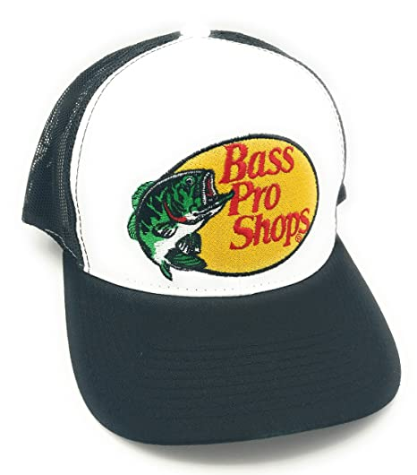 Amazon.com  Bass Pro Shops Hat (Black)  Sports   Outdoors 4d2660d87f9