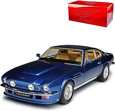 Gt Spirit Aston Martin V8 Vantage Dbs V580 X Pack Coupe Blau 1972 1973 Nr 744 1 18 Modell Auto Amazon De Spielzeug