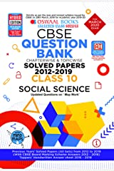 Oswaal CBSE Question Bank Class 10 Social Science Chapterwise & Topicwise (For March 2020 Exam) Kindle Edition