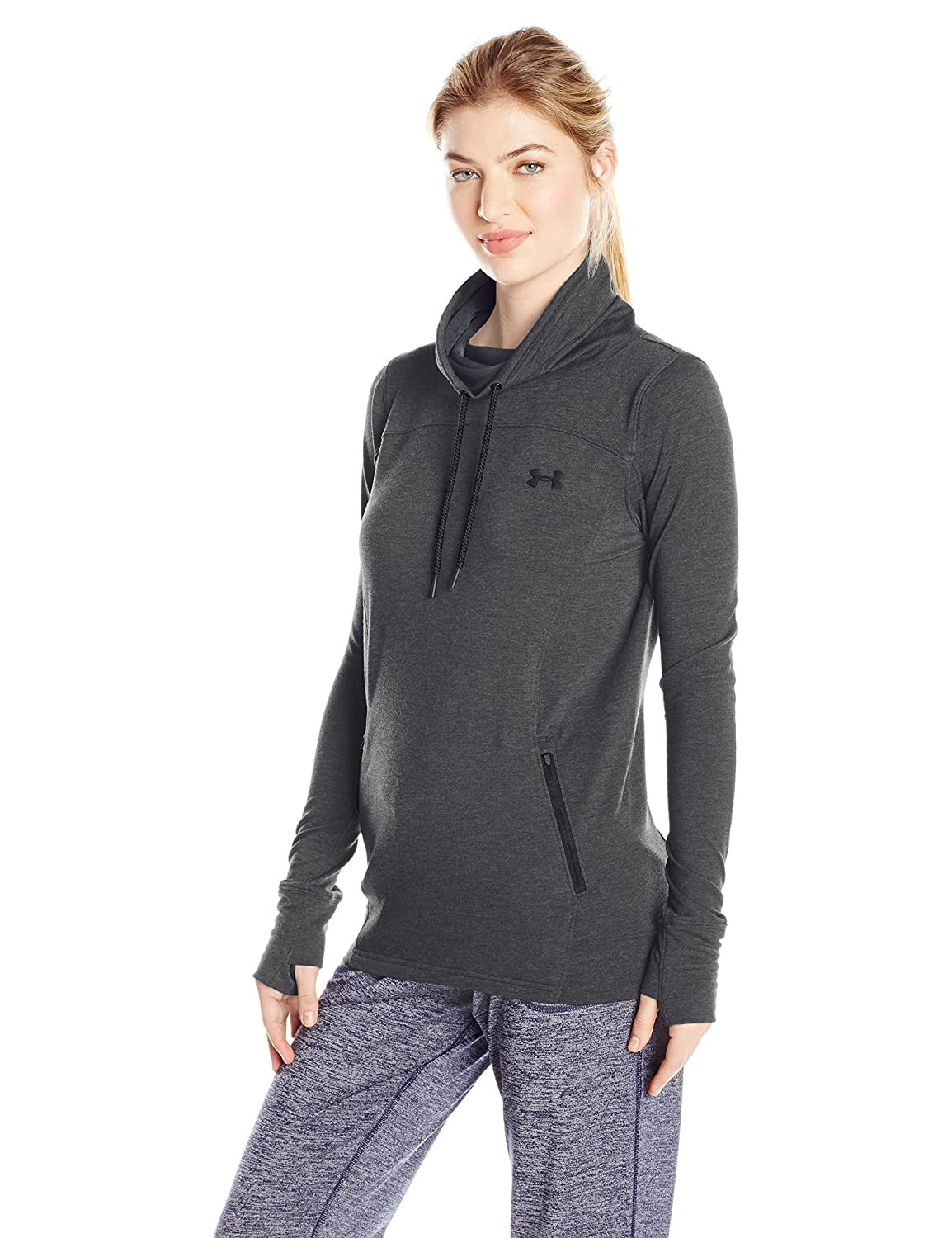 Under Armour Women's Featherweight Fleece Slouchy Popover Under Armour Apparel 1293020
