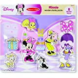 Melissa & Doug Disney Minnie Mouse and Friends Wooden Chunky Puzzle (8 pcs)