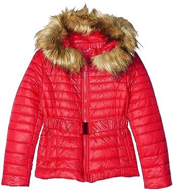 Derhy W608020 - Abrigo para niñas, color rojo, talla 10-12 años