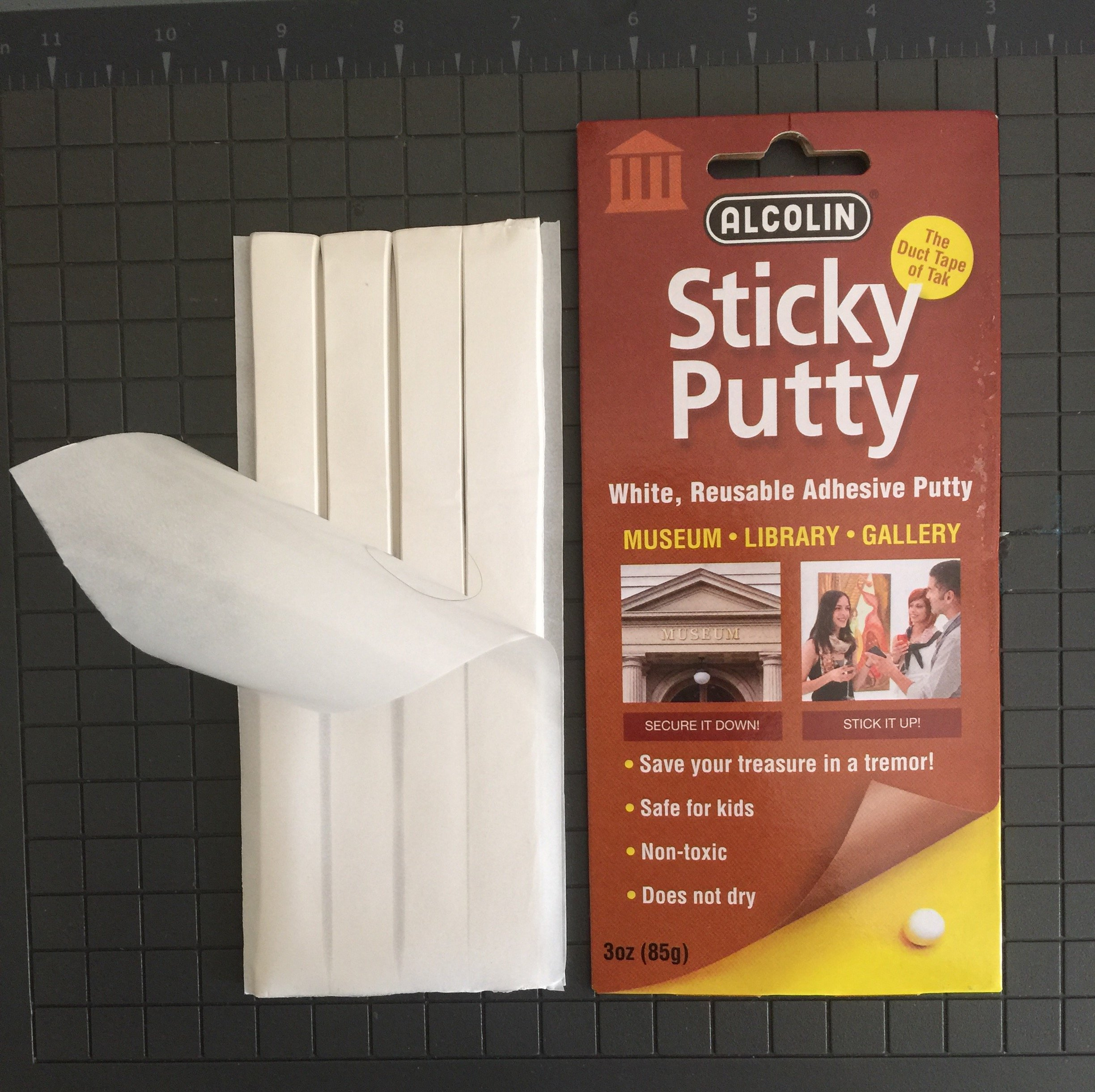 Sticky Putty Museum Putty Library Gallery 6- 3 Ounce Packages Six-pack