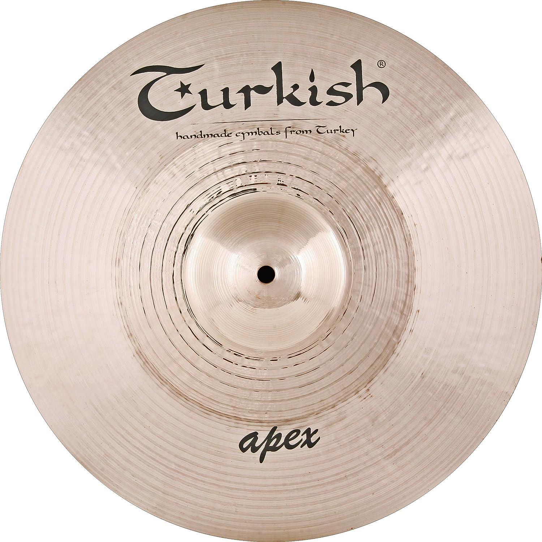 Turkish Cymbals Rock Series 16-inch Apex Crash Cymbals AP-C16   B00CWG378M