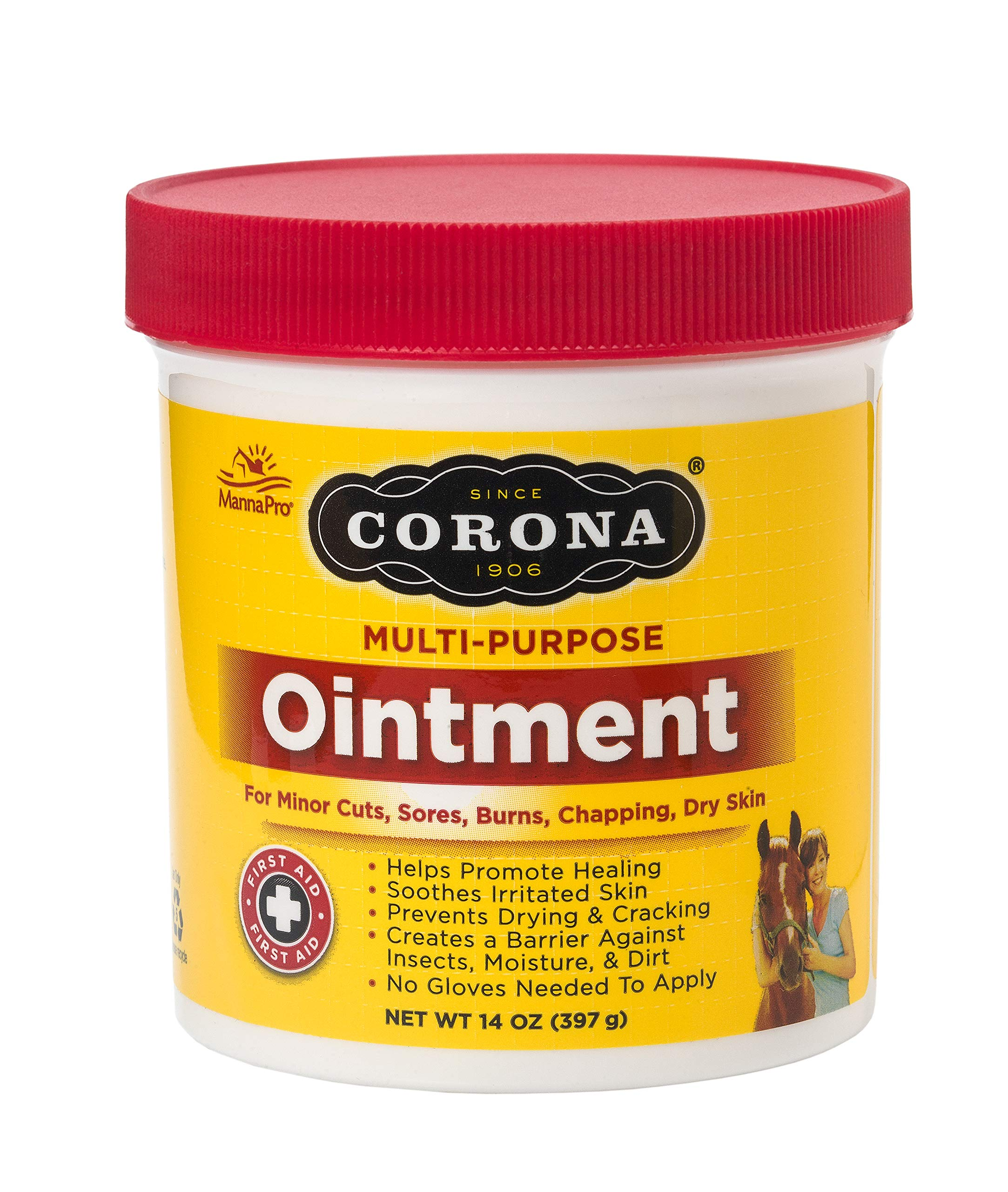 Manna Pro Corona Ointment 14 oz, jar by Manna Pro