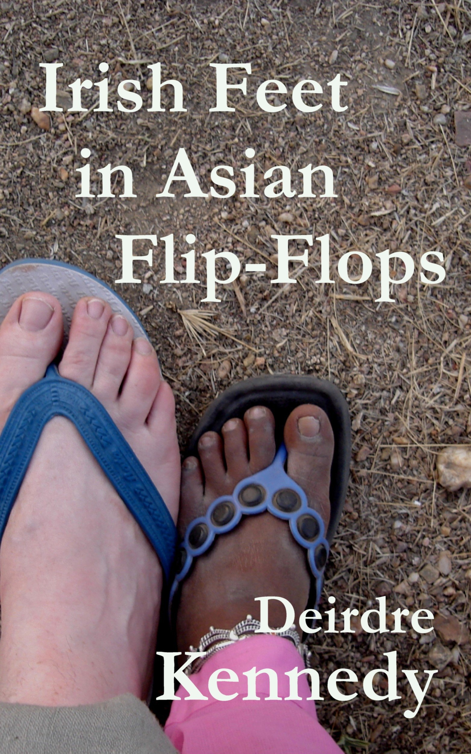Irish Feet in Asian Flip-Flop
