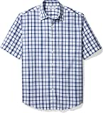Amazon Essentials Men's Regular-fit Short-Sleeve Poplin Shirt